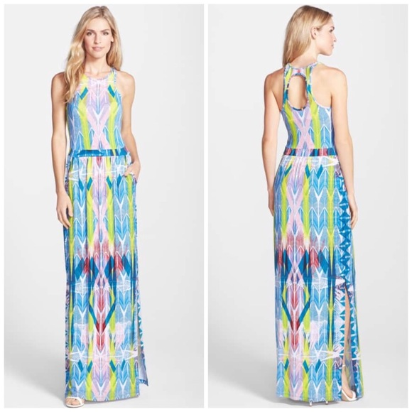 1f60004b85 Tart Dresses | Byrdie Arrow Print Racerback Maxi Dress | Poshmark